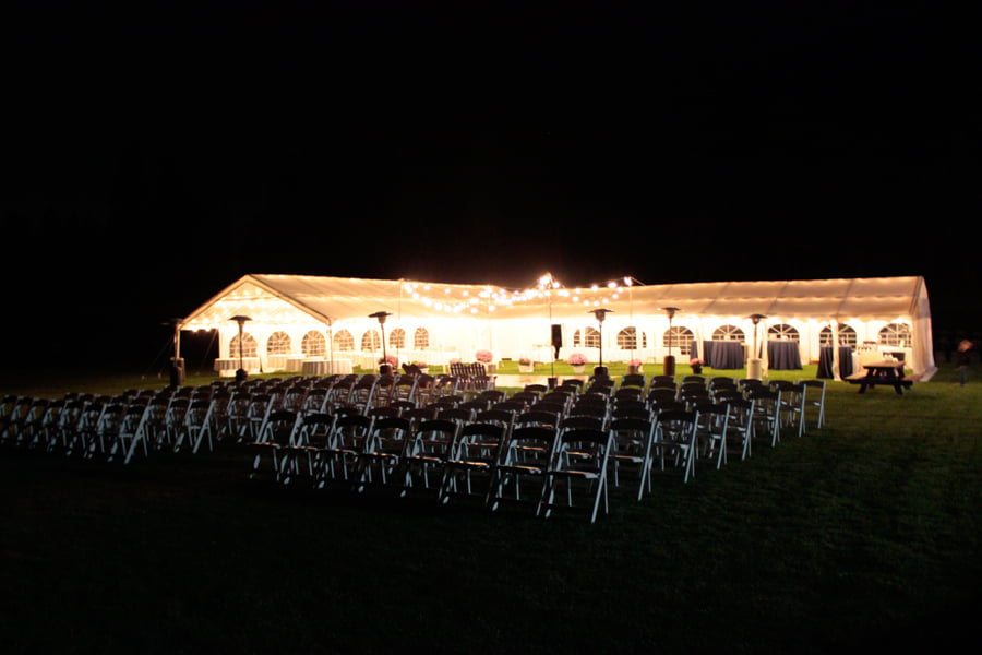 Wedding Venue At Night
