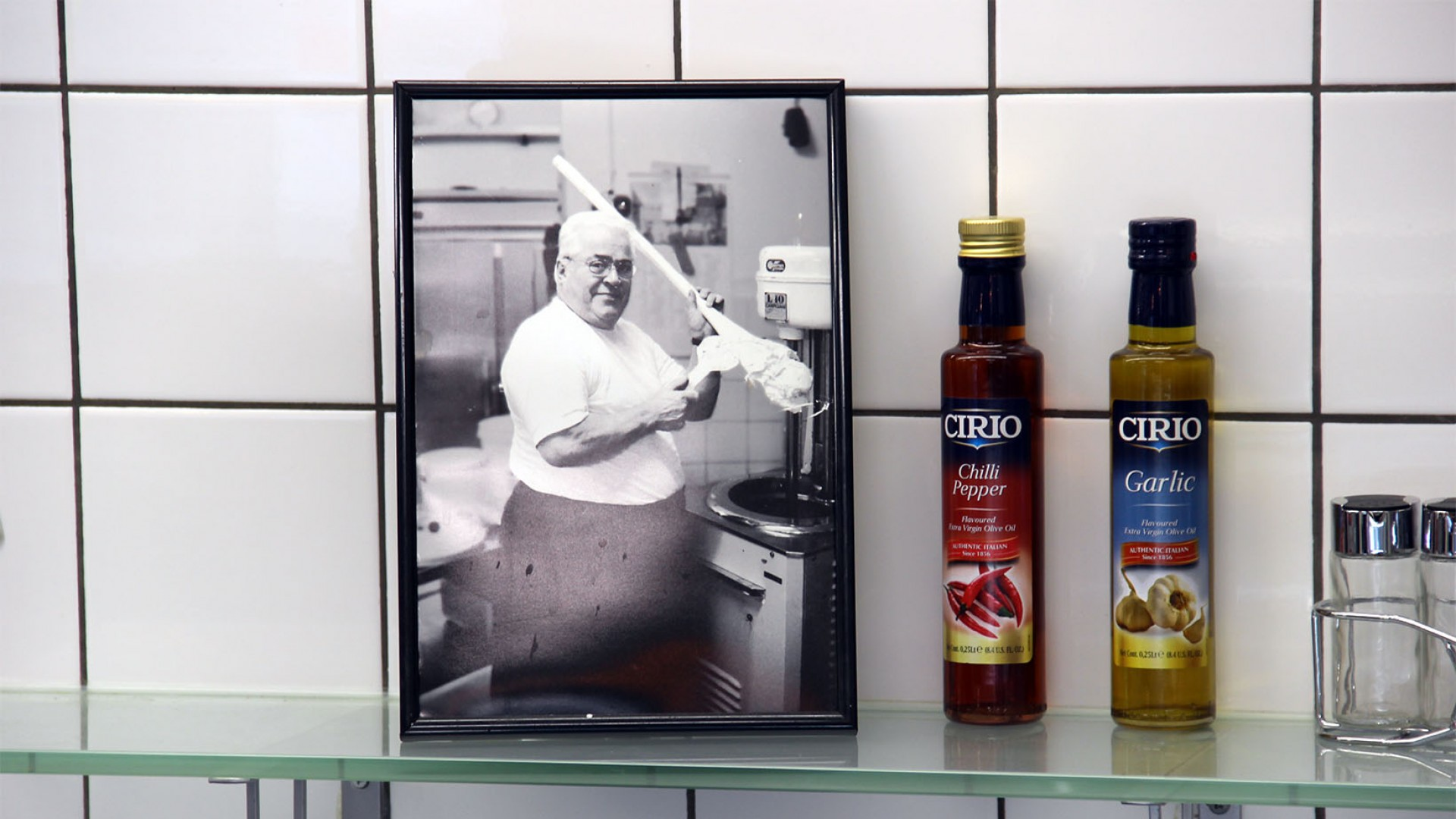 Vader Belfi, traditioneel italiaans eten bij la Venezia Schiedam