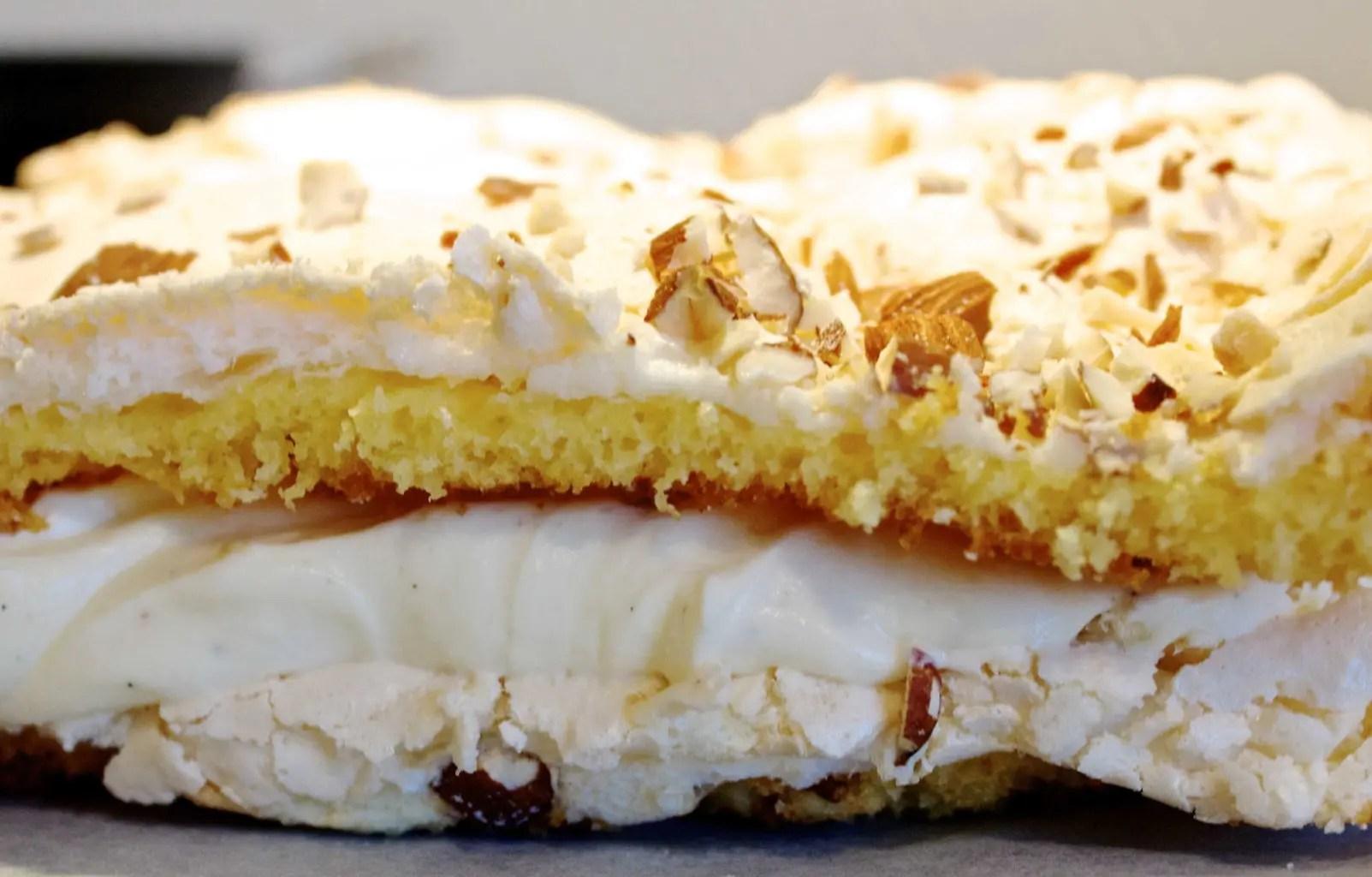 Gluten- og laktosefri Verdens Beste (eller Kvæfjordkake)