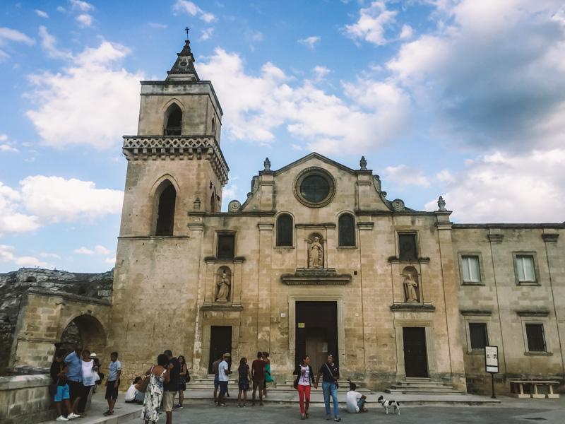 itinerario a piedi Matera