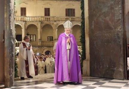 Apertura della Porta Santa nel duomo di Lecce