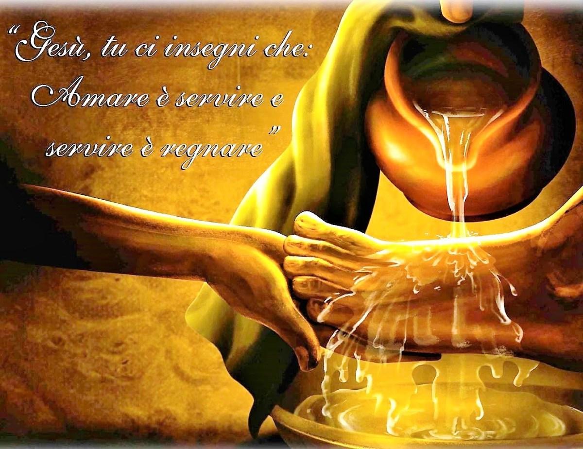 Il Giovedì Santo: giornata mondiale del servizio
