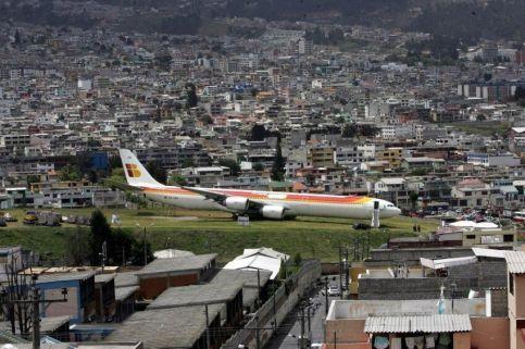 Iberia a Quito