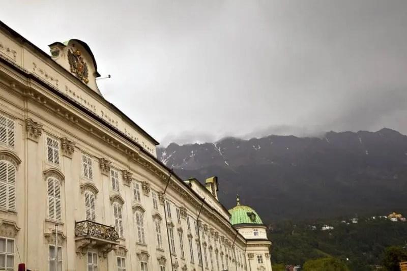 Hofburg fue residencai de la rama tirolesa de los Austrias