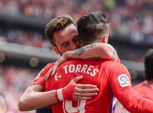 Torres y Saúl. Foto: Rubén de la Fuente