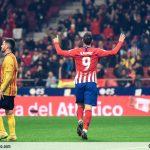 Las imágenes del Atleti-Sant Andreu