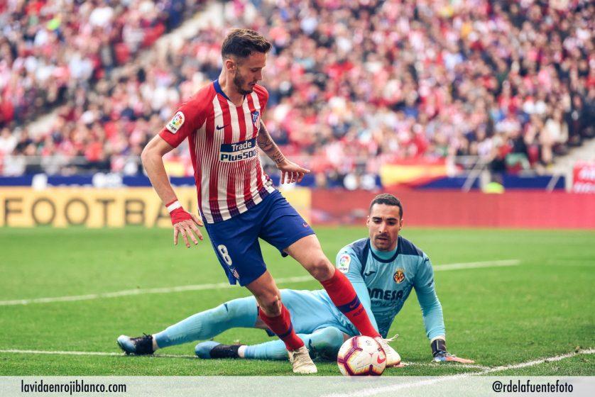 Saúl acabaría sentenciando el partido. Foto: Rubén de la Fuente