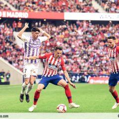 Las mejores imágenes del Atleti-Valladolid