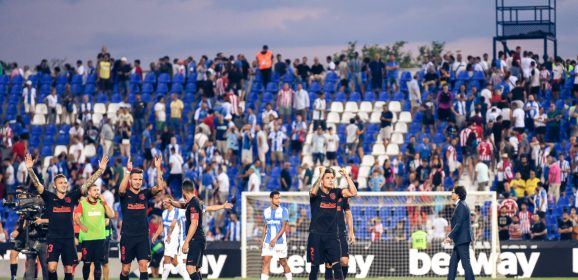 Las mejores imágenes del Leganés-Atleti
