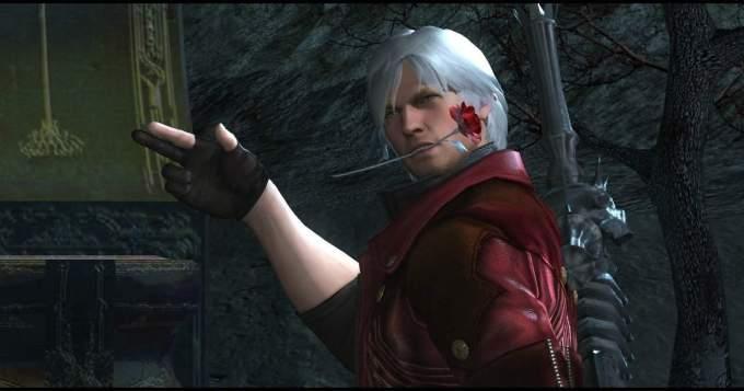 Aquí tenemos una escena de Devil May Cry 4 donde Dante deja ver su lado más libertino. Lo hace mediante una sana dosis de dobles sentidos muy bien hilados.