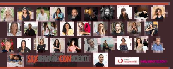 Ponentes del 3er Congreso Virtual Sexualidad Consciente