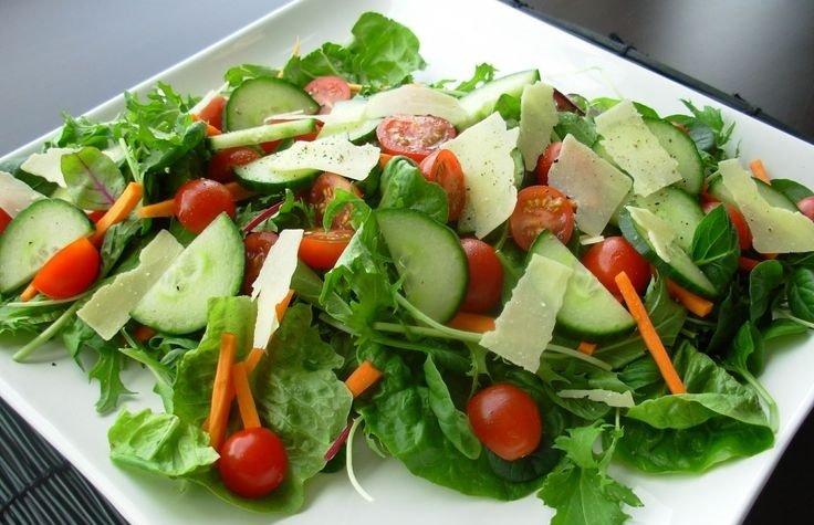 ensaladas no hacen engordar