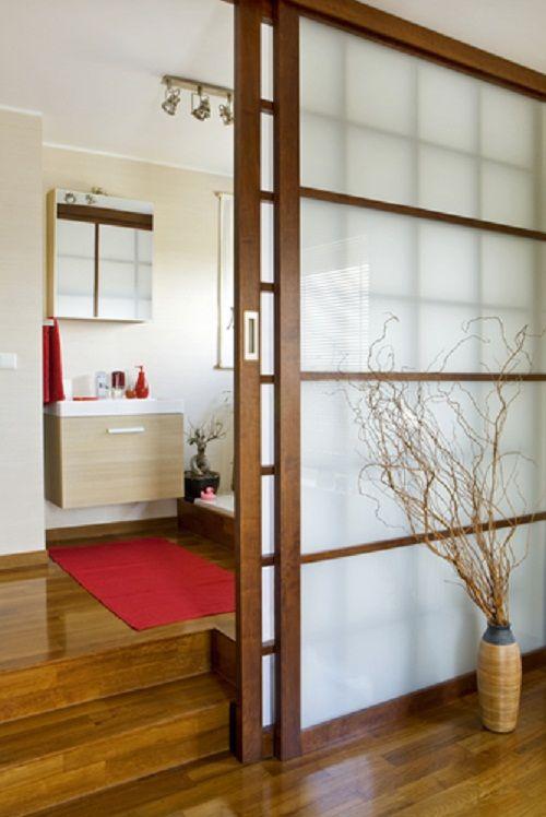 el diseño de las puertas corredizas japonesas