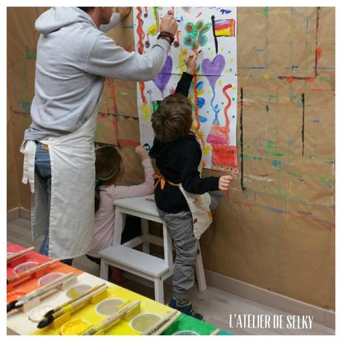 peindre en famille ou entre amis 1