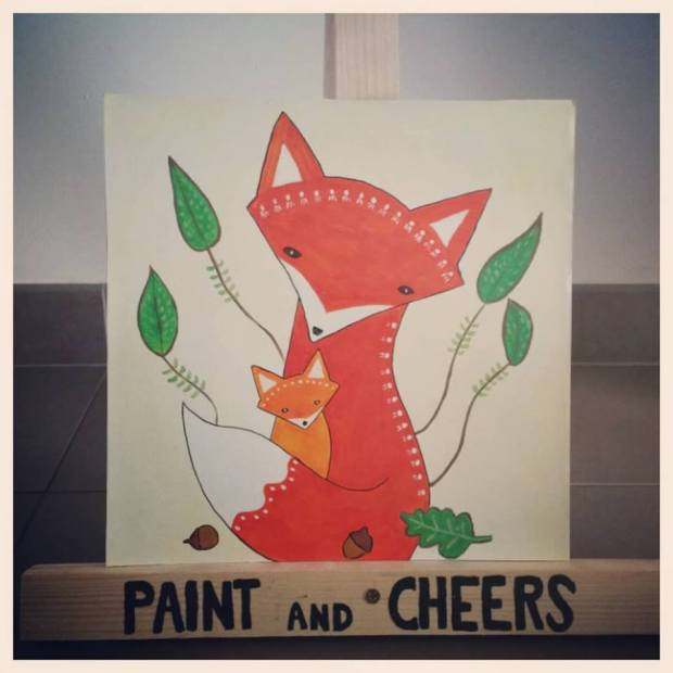 """Premier """"Paint and Birthday"""" en images - Paint and Cheers"""