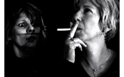 Smoking look that kills
