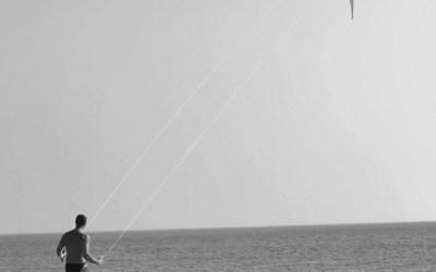 Seul au vent