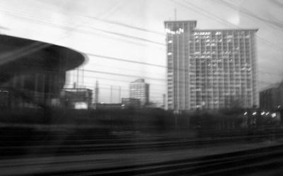 arrivée en gare de Lille Flandres