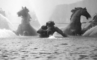 Neptune au sortir de l'eau