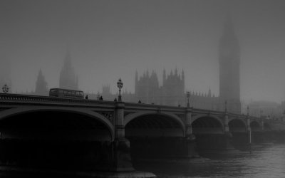 Big Ben in the fog – 14/01/2009 – London – UK