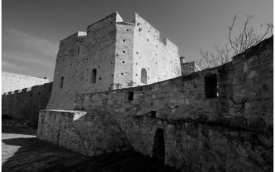 L'intérieur d'une forteresse
