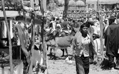 Marché de Debré Tabor (Ethiopie)