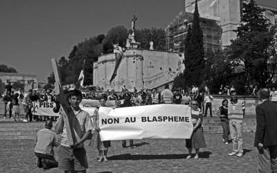 Non au blasphème….