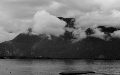 Clouds over Montreux