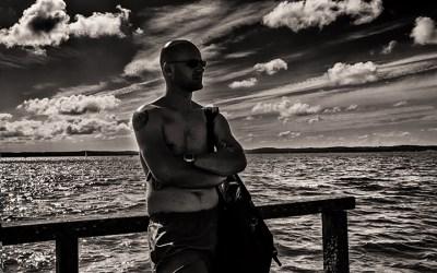 Regard sur le lac de Carcans