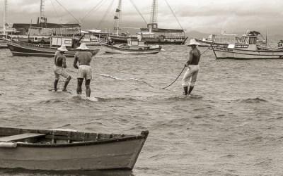 Coup de vent sur les pêcheurs de Bùzios