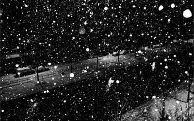 Il neige sur Pantin