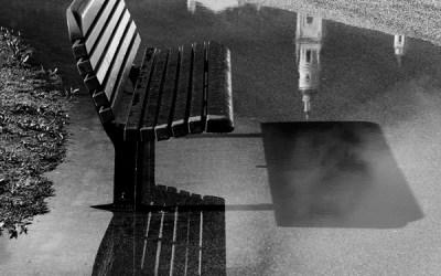 Vue sur le clocher de Menton