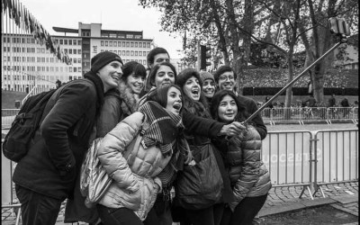 Le selfie collectif