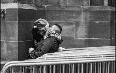 Le baiser de Noël