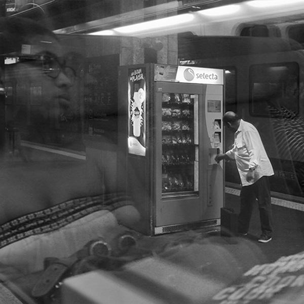 Elle arrive!_Gare de Béziers-carré