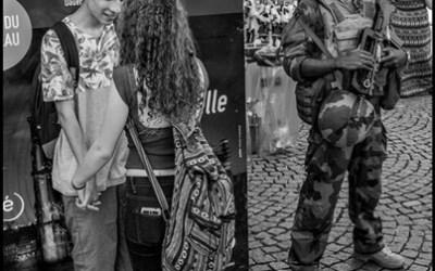 Les amoureux et le militaire