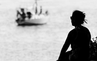 """""""Et je reste des heures à regarder la mer"""""""
