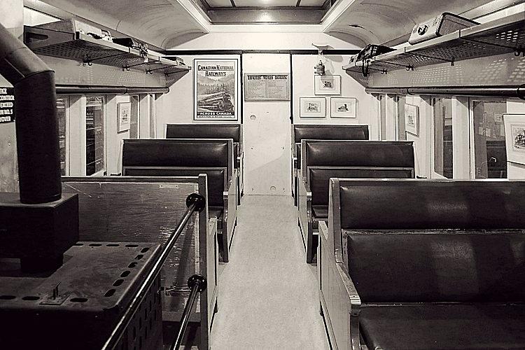 train vintage canada