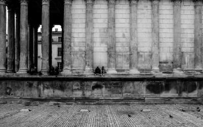 Nîmes – la maison carrée