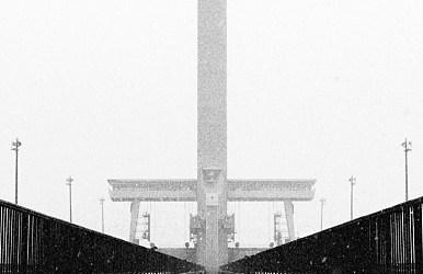 Symétrie hivernale.