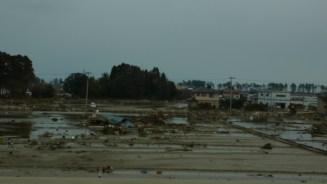 Catastrophe provoquée par un Tsunami