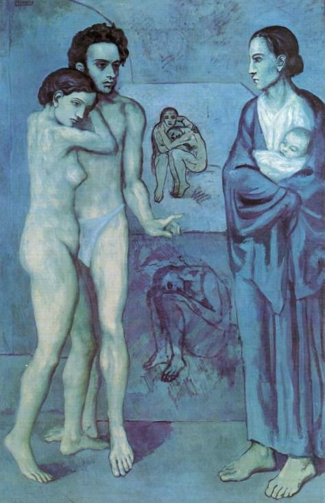 La vie (1903), de Pablo Picasso