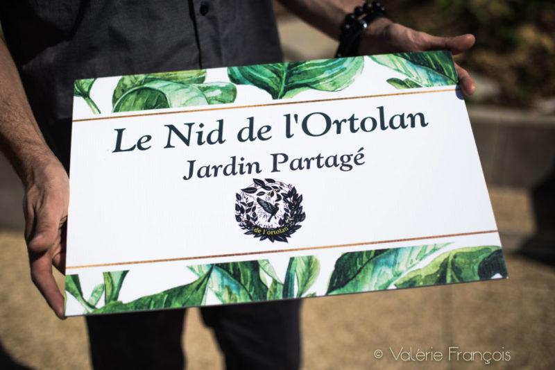 Jardin partagé du 5ème : le nid de l'Ortolan
