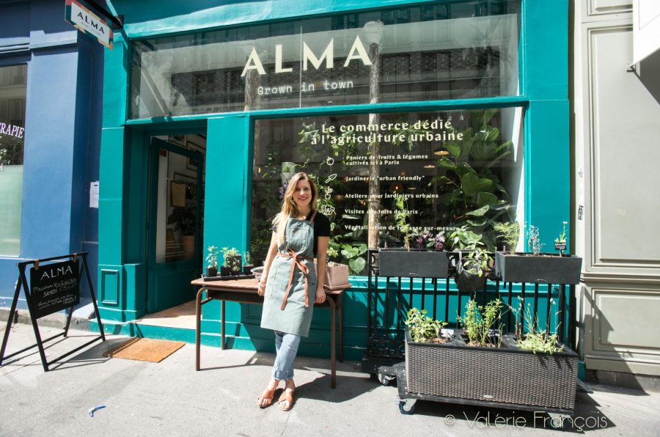 L'agriculture urbaine a sa boutique : Alma grown in town