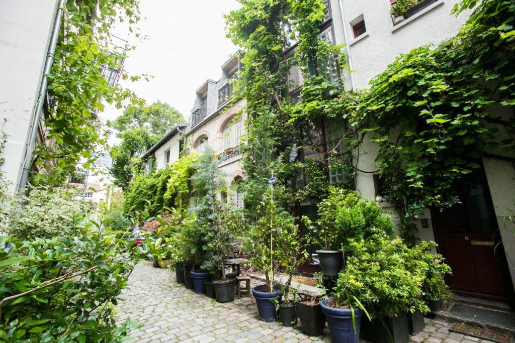 La campagne  à Paris - Villa Santos-Dumont - Paris 15