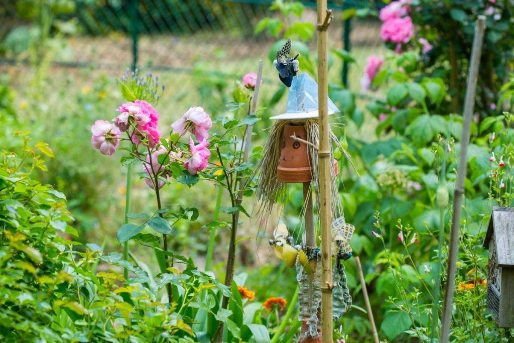 La campagne à Paris - Square des Cevennes - jardin partagé aux p'tits oignons