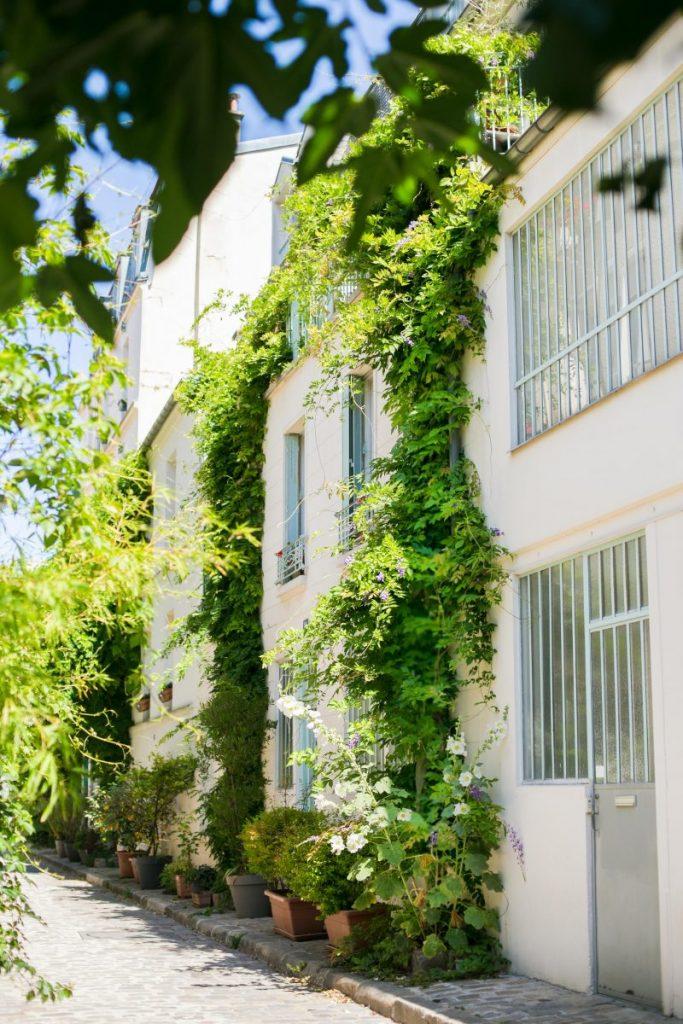 La rue des Thermopyles - Paris 14