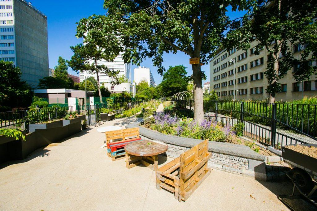 Le jardin des couleurs - Paris 14