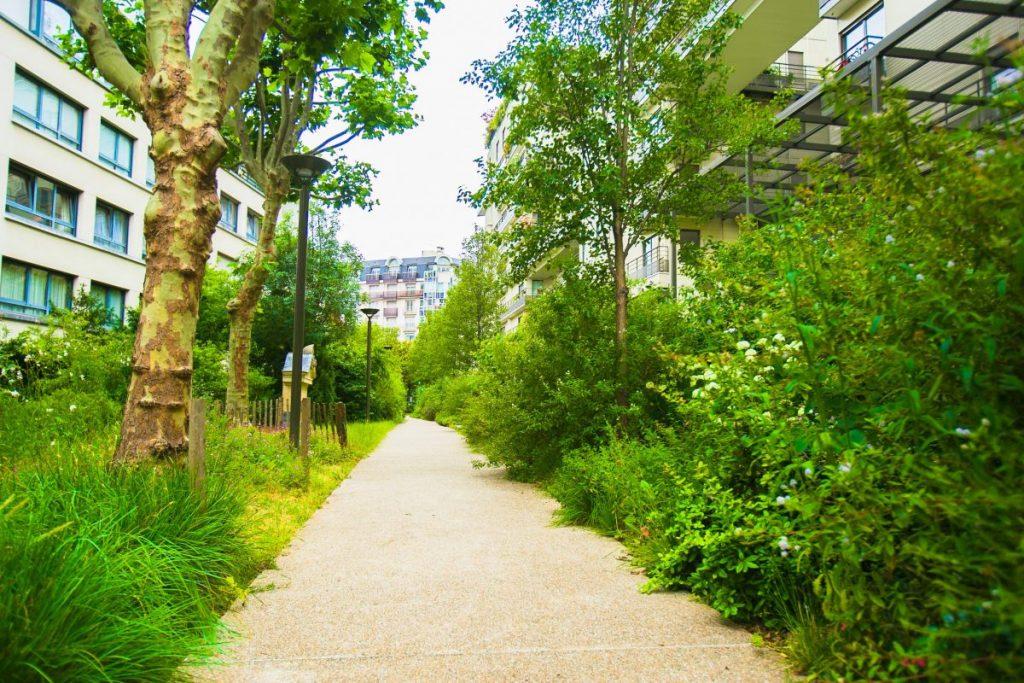 Jardin Marie-Poussepin - Paris 15
