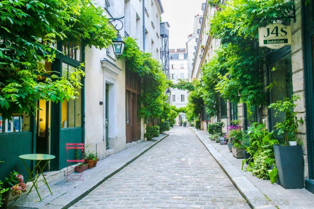 balade insolite Paris 11eme - cour Damoye